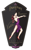Port Wine from Paso Robles CA - Paso Port Violeta Label